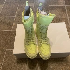 Jordan Shoes - Nike Air Jordan 1 Explorer XX AJ1 Luminous Green